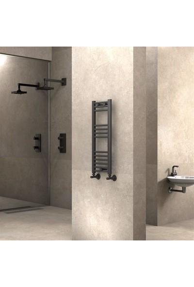 Radiva banyo ve Mutfak Için Havlupan 300 X 800 cm Düz Antrasit