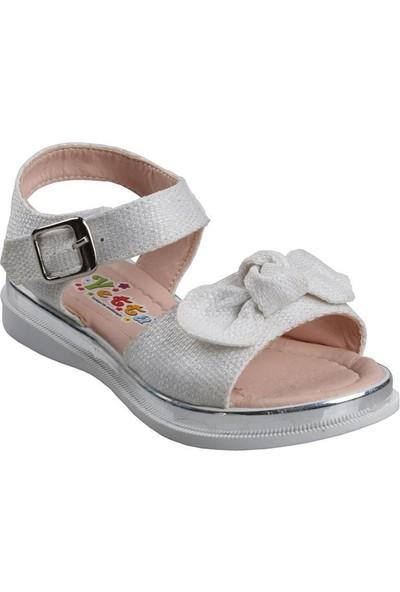 Vetta Girls Kız Çocuk Beyaz Günlük Sandalet