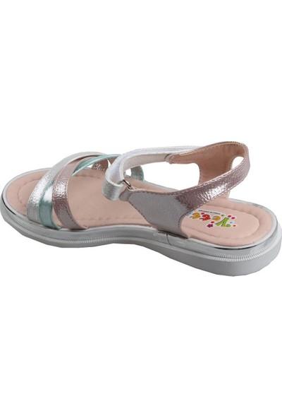 Vetta Girls Kız Çocuk Beyaz Sandalet