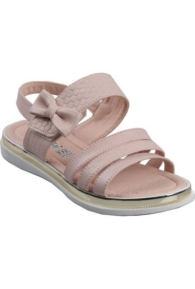 Vetta Girls Kız Çocuk Pudra Günlük Sandalet