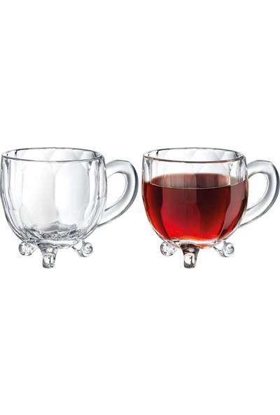Madame Coco Priour 4'lü Çay Fincanı