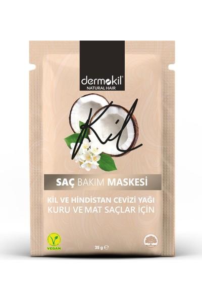 Dermokil Kil ve Hindistan Cevizi Yağlı Saç Maskesi