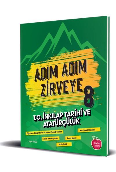 Newton Yayınları 8.Sınıf Adım Adım Zirveye T.c. Inkılap Tarihi ve Atatürkçülük Soru Bankası