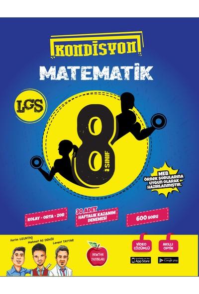 Newton Yayınları 8.Sınıf Kondisyon Matematik 30 Adet Kazanım Deneme