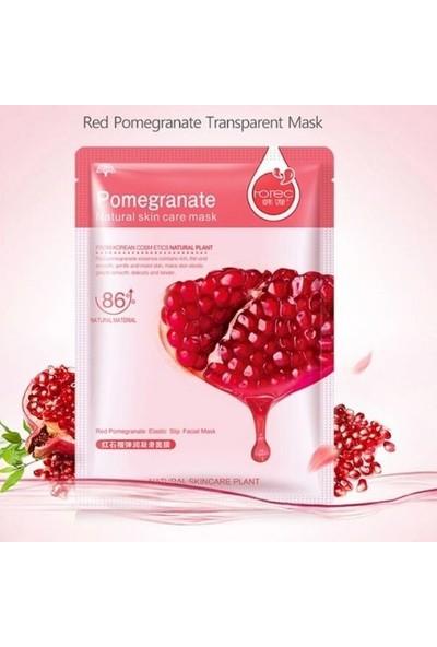 Pomegranate Kolajen Maske Kırmızı Nar Özlü