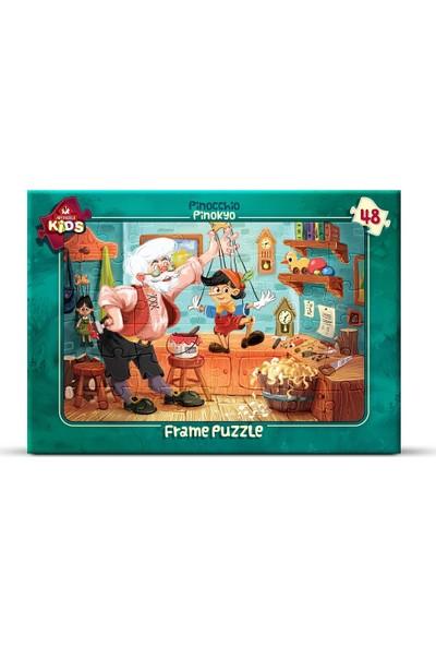 Art Çoçuk Frame Puzzle Pinokyo 48 Parça