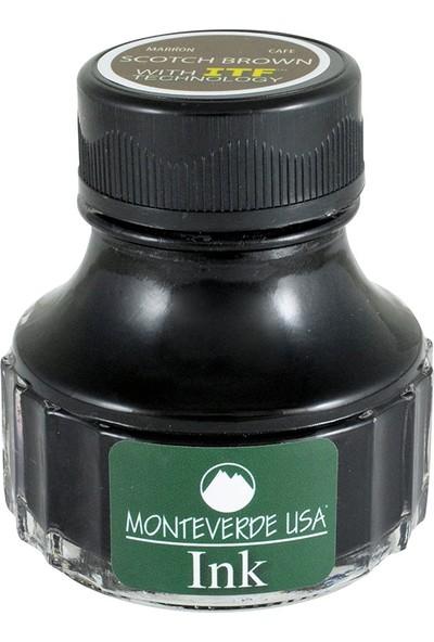 Monteverde Mürekkep Serisi 90 ml Kahverengi G308BN