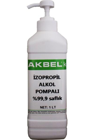 Akbel Izopropil Alkol Pompa Aparatlı 1 lt %99,9 Saflıkta