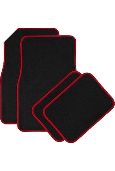 Sepet Tuning Kırmızı Kenarlı Siyah Spor Paspas
