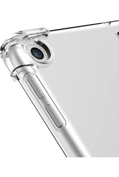 Case Street Apple iPad 9.7 2017 Kılıf Antishock Sİlikon Şeffaf