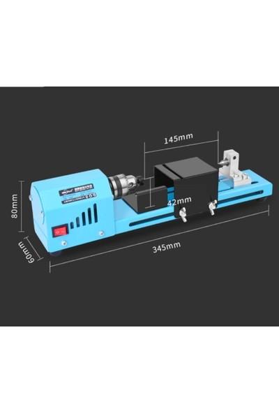 Alfa 150 W Mini Ahşap Torna Makinası Dıy Ağaç İşleme