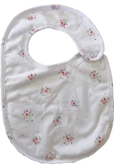 Baby Hil Çiçekli Mama Önlüğü