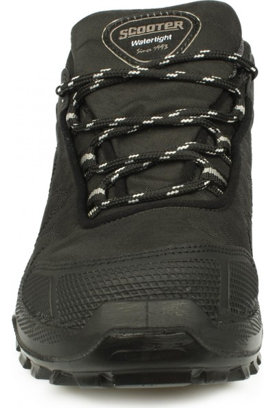 Scooter M1237 Watertight Siyah Erkek Ayakkabı