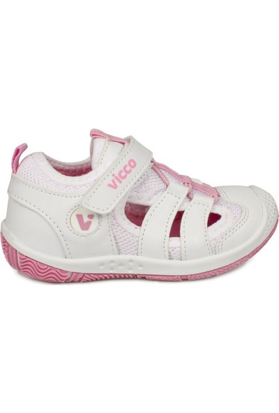 Vicco 332.B20Y.300 Bebe Beyaz Çocuk Sandalet