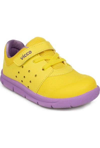 Vicco 346.P20K.153 Patik Phylon Sarı Çocuk Ayakkabı