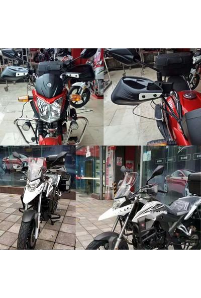 Knmaster Motosiklet Evrensel Elcik Koruma Takımı Siyah