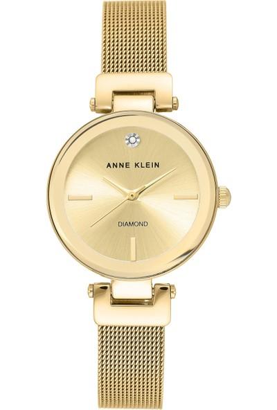 Anne Klein AK-3034CHGB Kadın Kol Saati