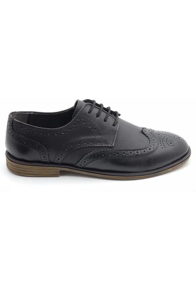 Man Maskulen Yumuşak Deri Klasik Erkek Ayakkabı