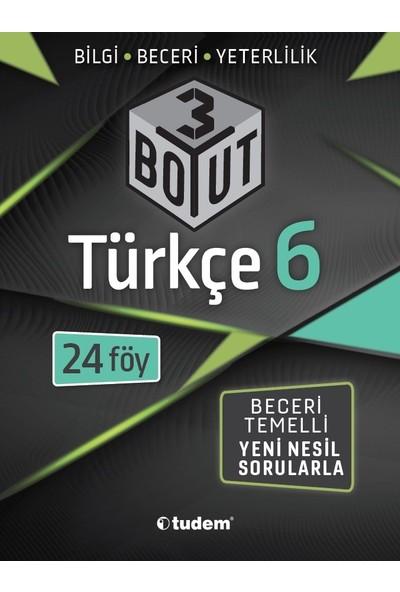 Tudem Yayınları 6. Sınıf 3 Boyut Türkçe