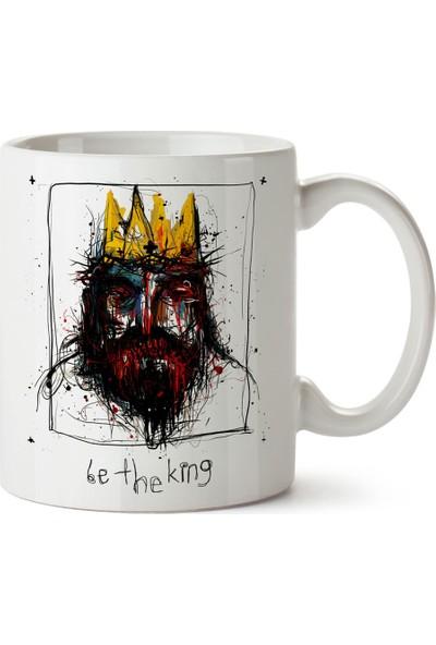 Presstish Be The King Tasarım Baskılı Kupa Bardak