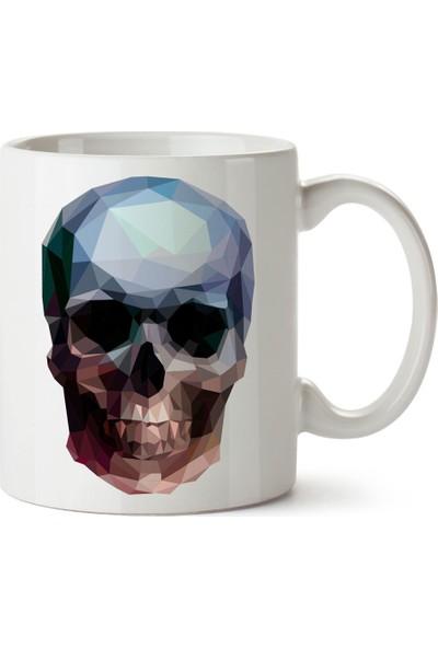 Presstish Crystal Skull Tasarım Baskılı Kupa Bardak