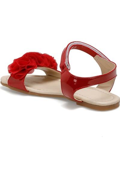 Seventeen Fırıl Kırmızı Kız Çocuk Sandalet