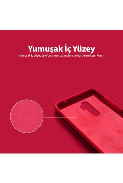 Sarı Store Xiaomi Red Mi Note 8 Pro Kılıf İçi Kadife Lansman Kapak Lila