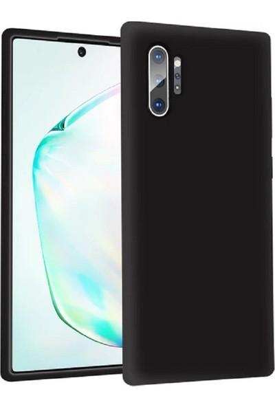 Sarı Store Samsung Galaxy Note 10 Plus Kılıf İçi Kadife Lansman Kapak Siyah