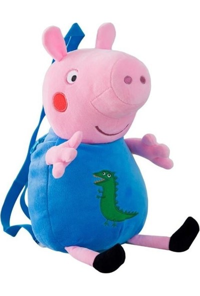 Peppa Pig Okul Çantası Sırt Çantası George