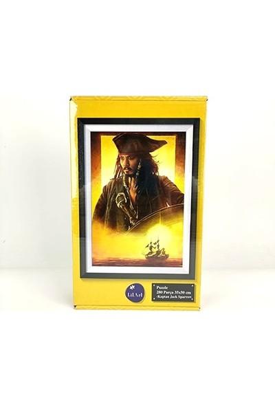 Ceren Puzzle Kaptan Jack Sparrow 280 Parça 35 x 50 cm