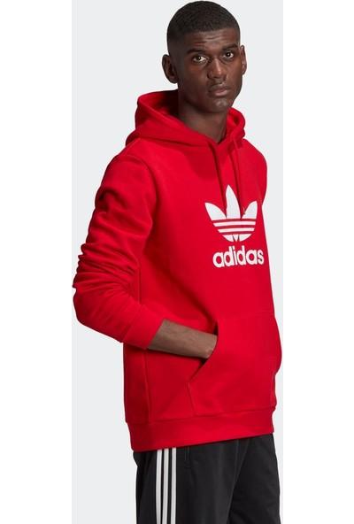 adidas GD9924 Trefoıl Hoodie Erkek Sweatshirt