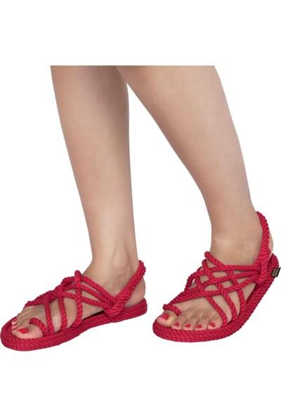 Nomadic Republic Kırmızı Halat Sandalet