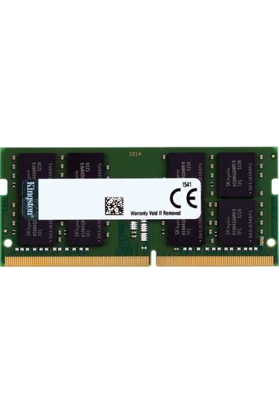 Kingston 8GB 3200MHz DDR4 Ram KVR32S22S8/8