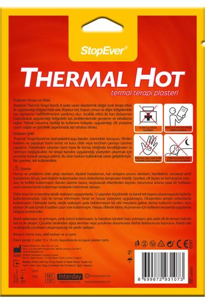 Stopever Thermal Hot Termal Terapi Plasteri-2 Adet Bant