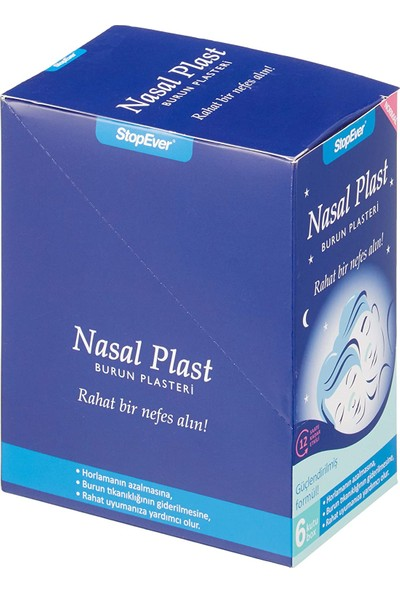 Stopever Nasal Plast Normal Boy 6'lı