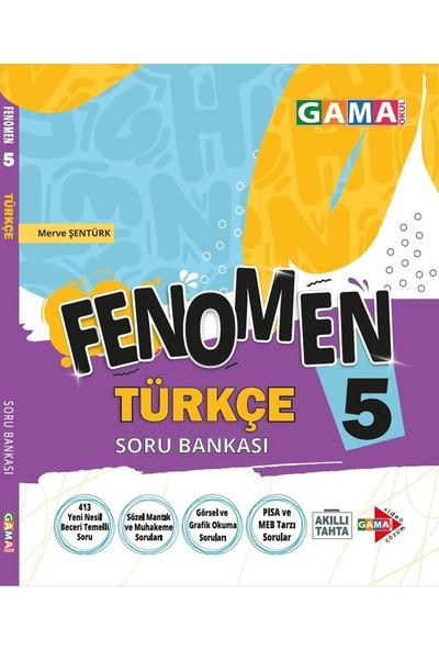 Gama Yayınları 5.Sınıf Fenomen Türkçe Soru Bankası
