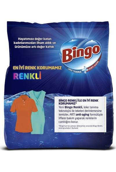 Bingo Matik Toz Çamaşır Deterjanı 7 kg Renkli 2'li