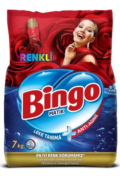 Bingo Renkli Toz Çamaşır Deterjanı 7 Kg