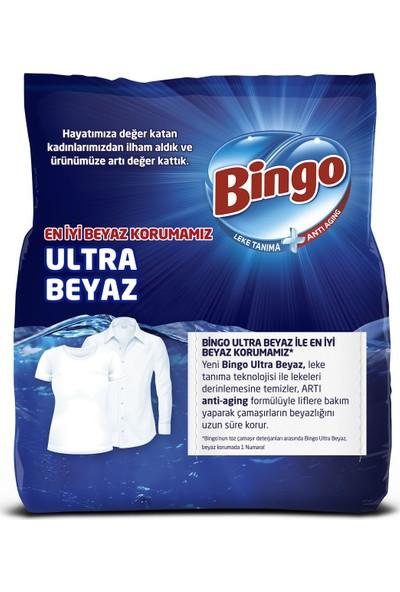 Bingo Matik Toz Çamaşır Deterjanı 4 kg Ultra Beyaz 2'li