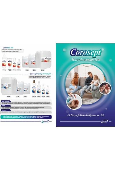 Biobilim Corosept Solüsyon El Dezenfektanı 1 lt x 10 Adet