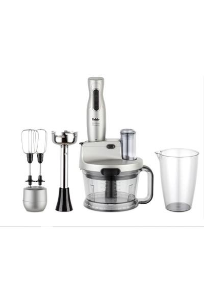 Fakir Mr Chef Quadro Silver Stone Blender Set