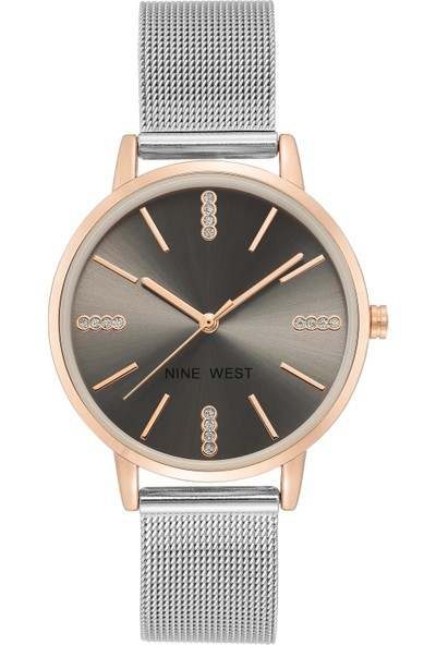 Nine West NW-2503GYRT Kadın Kol Saati