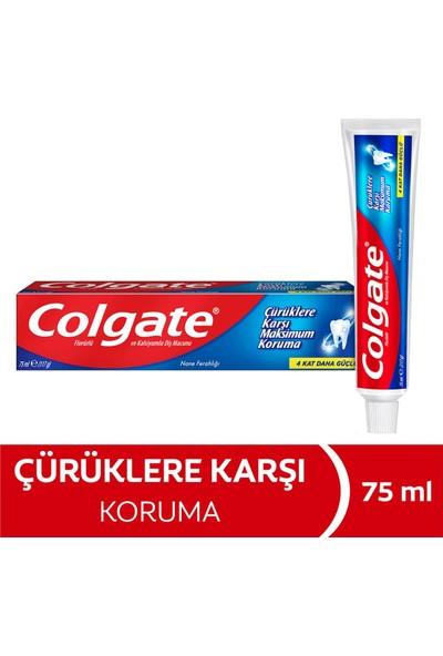 Colgate Çürüklre Karşı Max Koruma Diş Macunu 75 ml