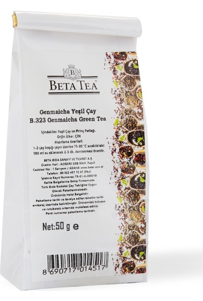 Beta Tea Genmaicha Çayı 50 gr