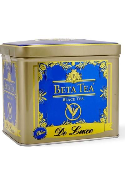 Beta De Luxe Mavi Metal Ambalaj 225 GR (Seylan Çayı - Ceylon Tea)