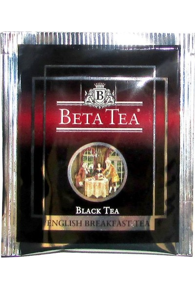 Beta English Breakfast Bardak Poşet 25 x 2 GR (Seylan Çayı - Ceylon Tea)