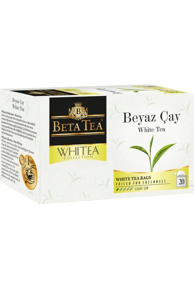 Beyaz Çay 20x1,2 Gr - Beta Whitea Collection