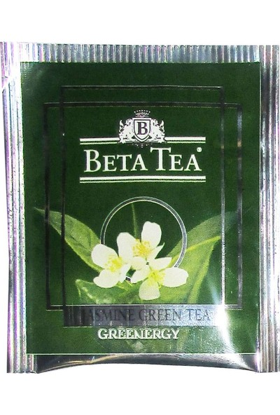 Beta Jasmine Green Bardak Poşet 25 x 2 GR (Yaseminli Yeşil Çay)