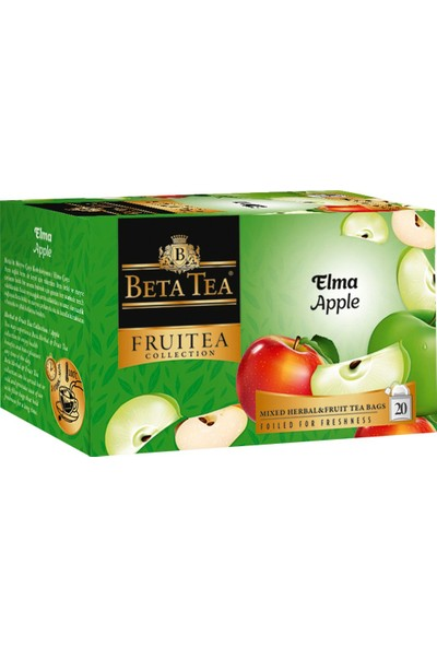 Elma Çayı 20x2 Gr - Beta Fruitea Collection