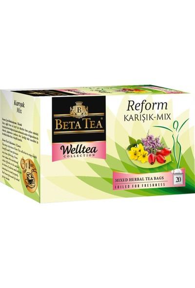 Karışık Çay 20x2 Gr - Beta Welltea Reform Collection
